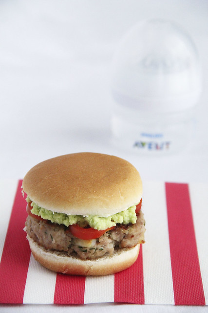 Hamburger di vitello con crema avocado_Avent II