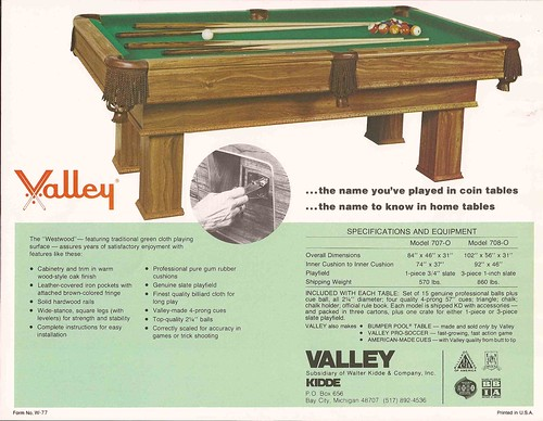 Valley Home Pool Tables Since Flickr - Westwood pool table