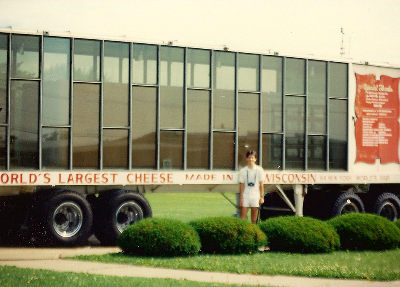 World27;s Largest Cheese Truck, Neillsville, WI