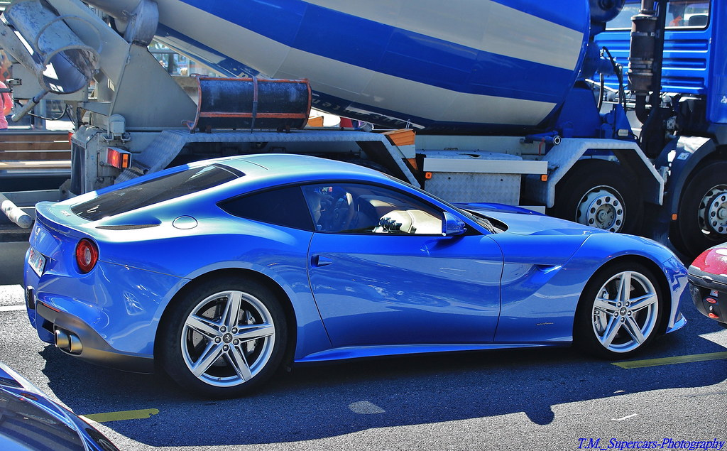 ferrari f12 berlinetta blue. blue ferrari f12 berlinetta | by t.m._supercars-photography
