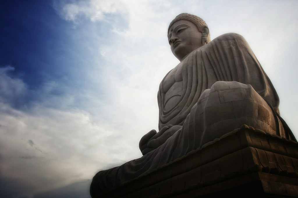 The Great Buddha Of Bodhgaya, India