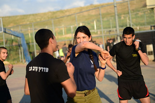 Kfir Brigade Trains in Krav Maga Self Defense Techniques | by Israel Defense Forces