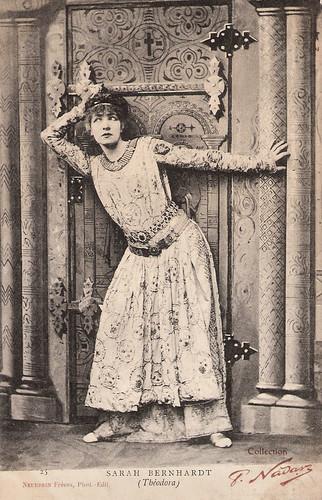 Sarah Bernhardt in Théodora