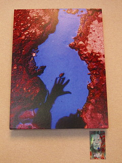 Alien Finger printed canvas photo | by shannonkringen