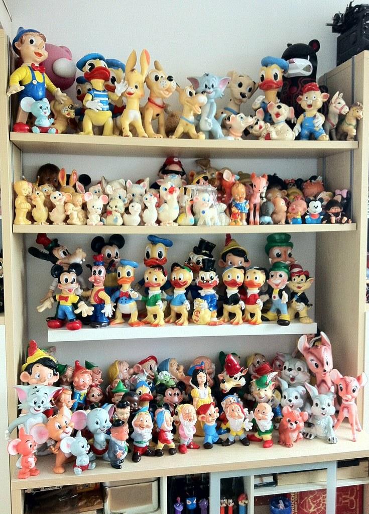 Vintage Ledraplastic Rubber Squeeze Toys Collection Flickr