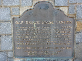 P1200906 Oak Grove Stage Station (California Historical Landmark No. 502) | by jawajames