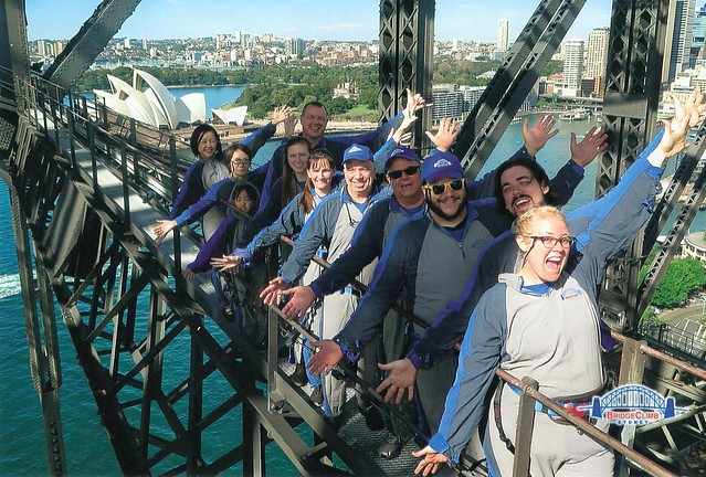Bridge Climb Group Picture