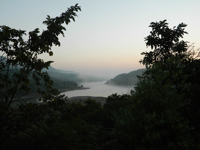 Panshet Dam backwater