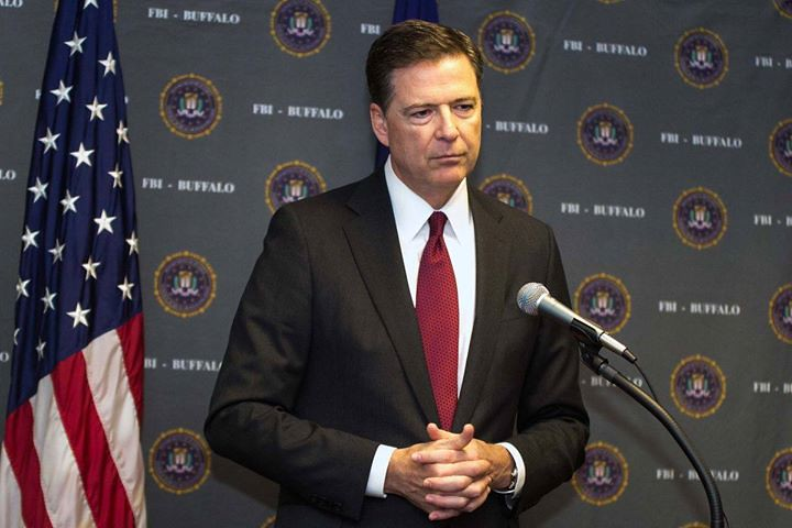 Join us as we play the clip from yesterday's press conference by FBI director James Comey. Listen LIVE at http://ift.tt/1NtUC1A