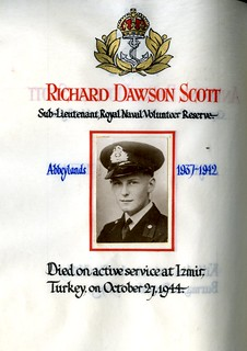 Scott, Richard Dawson (1924-1944) | by sherborneschoolarchives