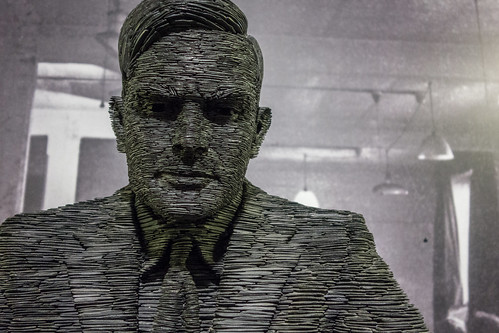 Alan Turing [detail] | by christopher_brown