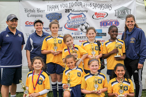 Malden Youth Soccer U10 team