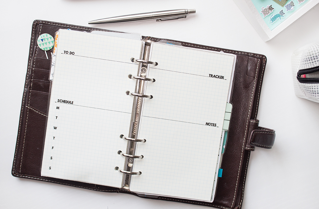 Using The Bullet Journal Method With Filofax | awaywithkatie.com