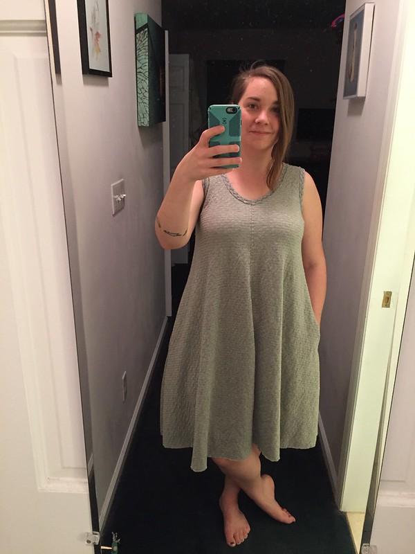 Alabama Chanin a-line dress