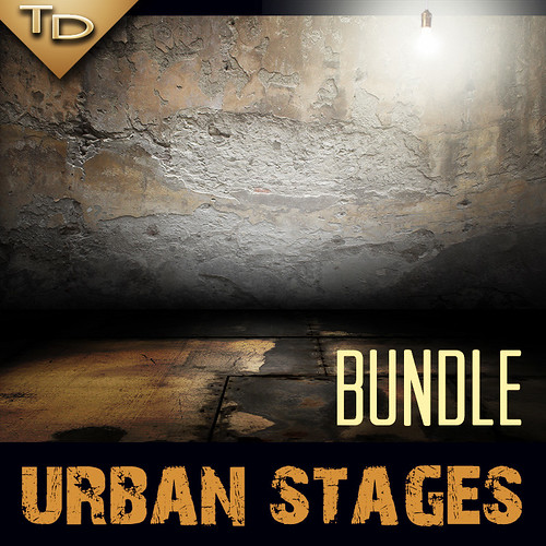 Various Urban Stages Bundle | by TanyDi