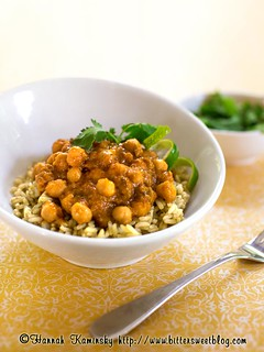 Channa Masala + Thai Lime Rice | by Bitter-Sweet-