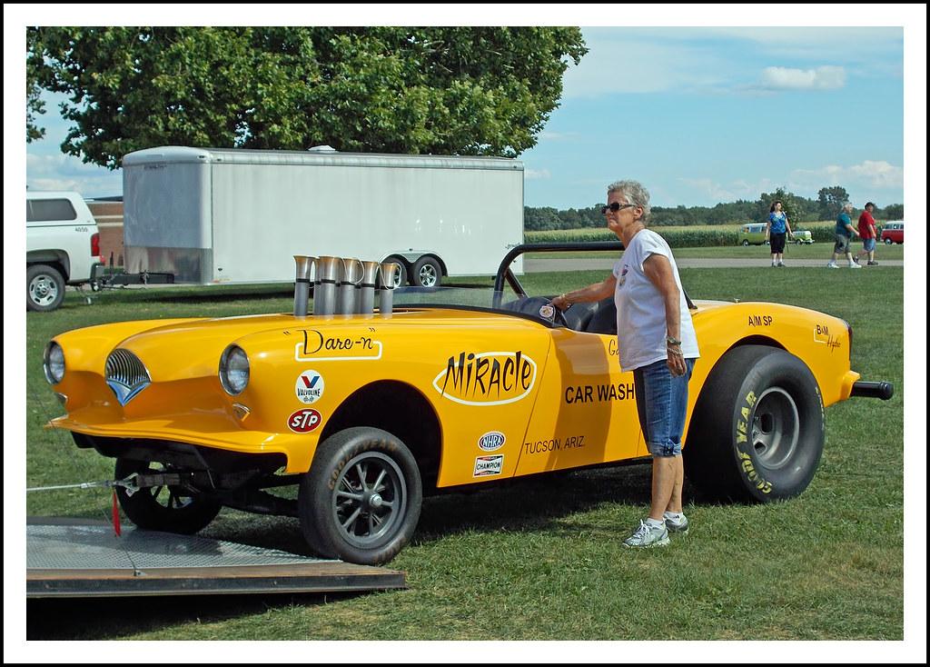1954 Kaiser Darrin gasser - first created in 1961 | The Augu… | Flickr