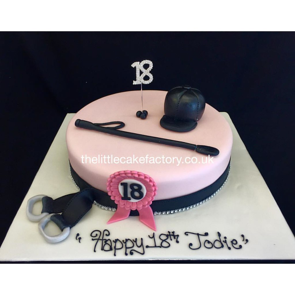 Horse Riding Birthday Cake 18 18th Horse Horses Horse Flickr