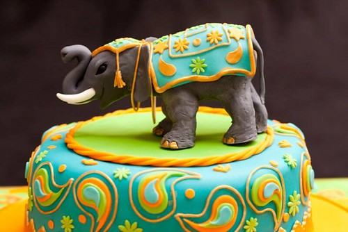 indian elephant wedding cake toppers indian elephant cake topper by heidi s cakes of lechlade 16401