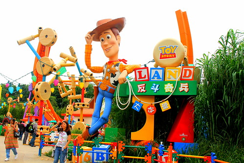 Exploring Toy Story Land