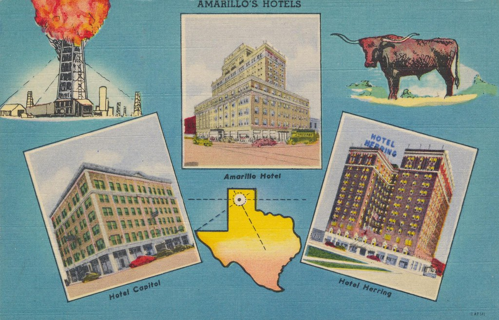 Amarillo's Hotels - Amarillo, Texas