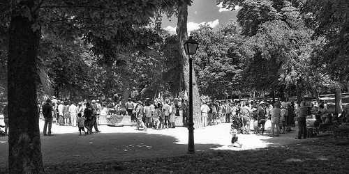 Reunión en el parque / Meeting in the park | by jninophotos