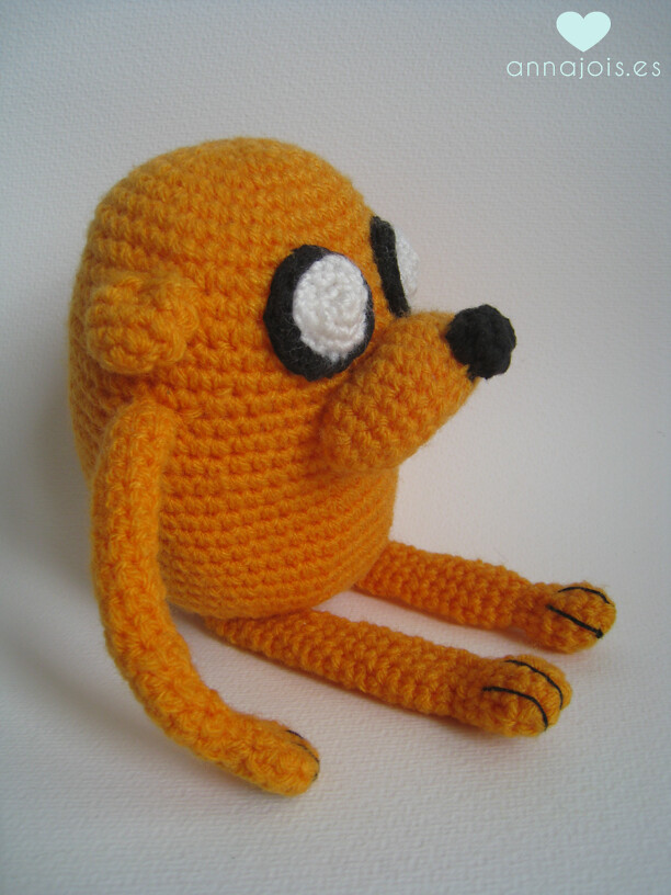 Amigurumi boneco Jake - Hora da Aventura no Elo7 | Banana Pancakes ... | 816x612