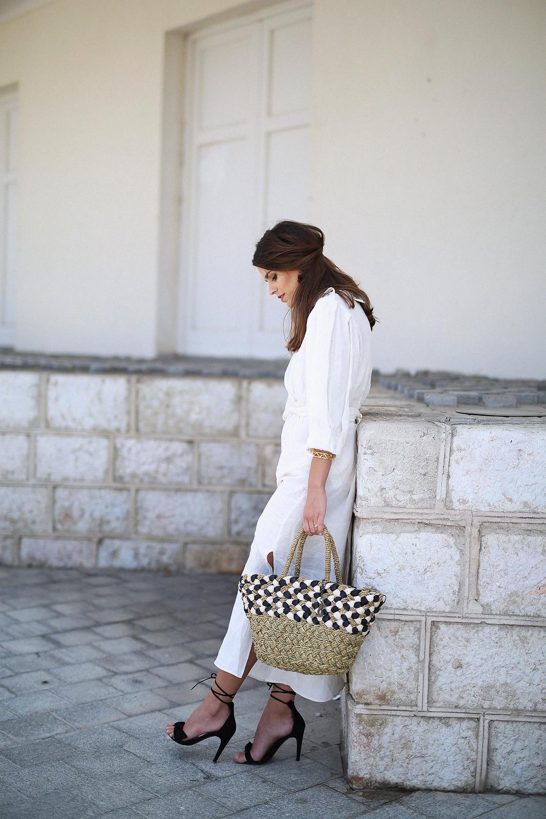 jessie chanes seams for a desire zara vestido lino capazo rafia-11
