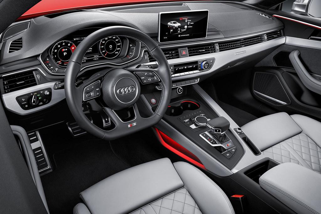 2018 audi s5 coupe interior car fanatics flickr