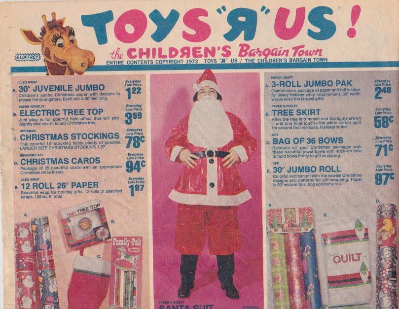 toys r us christmas supplement 1972 by rusty blazenhoff