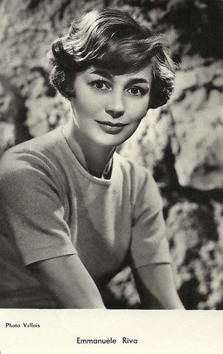Emmanuelle Riva, in honour of Alain Resnais (1922-2014)