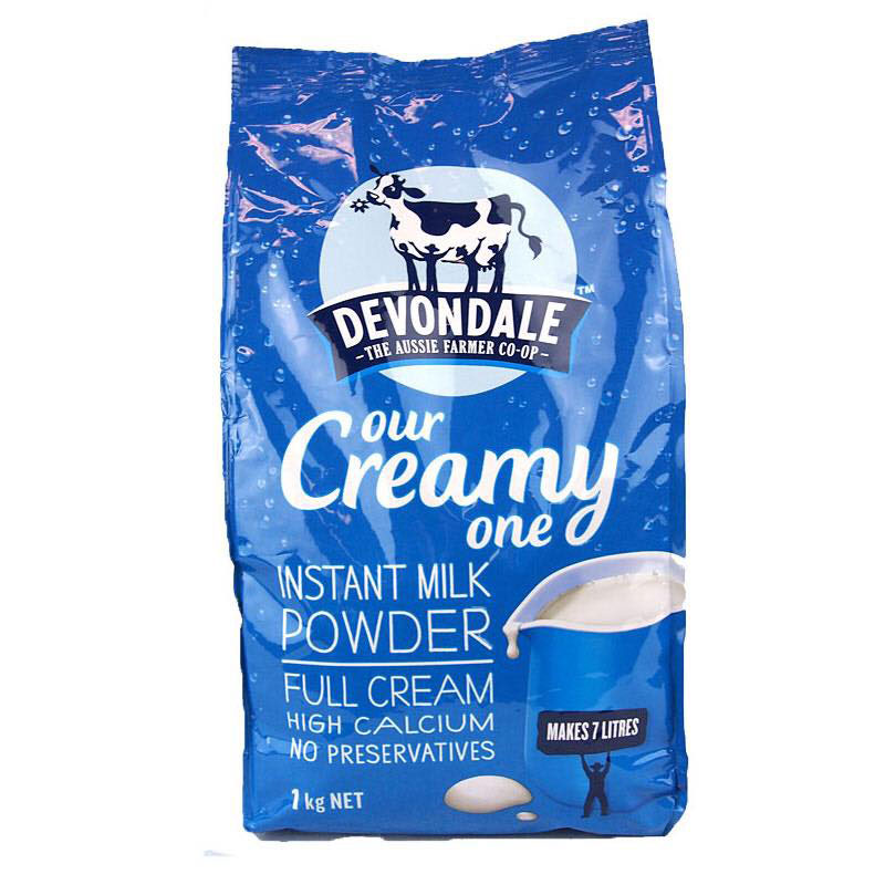 sữa tươi úc devondale