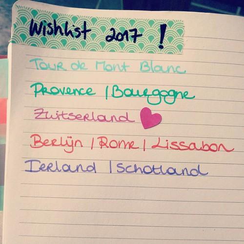 Dromen... #wishlist #travellist #dreams