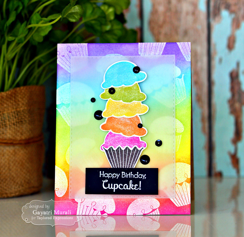 Happy Birthday card #1 by Gayatri Murali