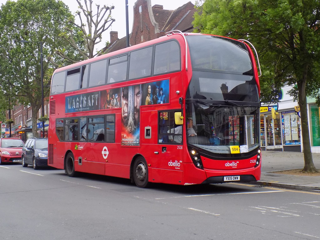 ... Abellio London: YX15 OWW/ 2528 on route E9 to Ealing Broadway Station |  by