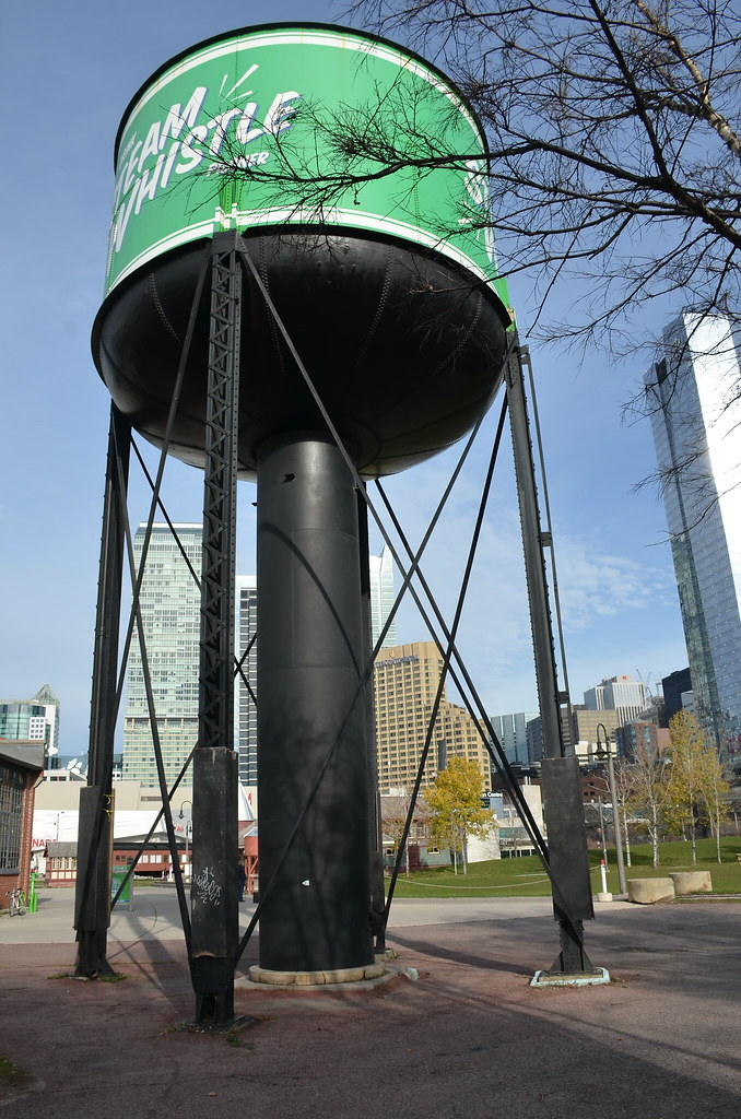 ... Water tank outside the Steam Whistle brewery- probably a previous railway relic | by shankar & Water tank outside the Steam Whistle brewery- probably a pu2026 | Flickr