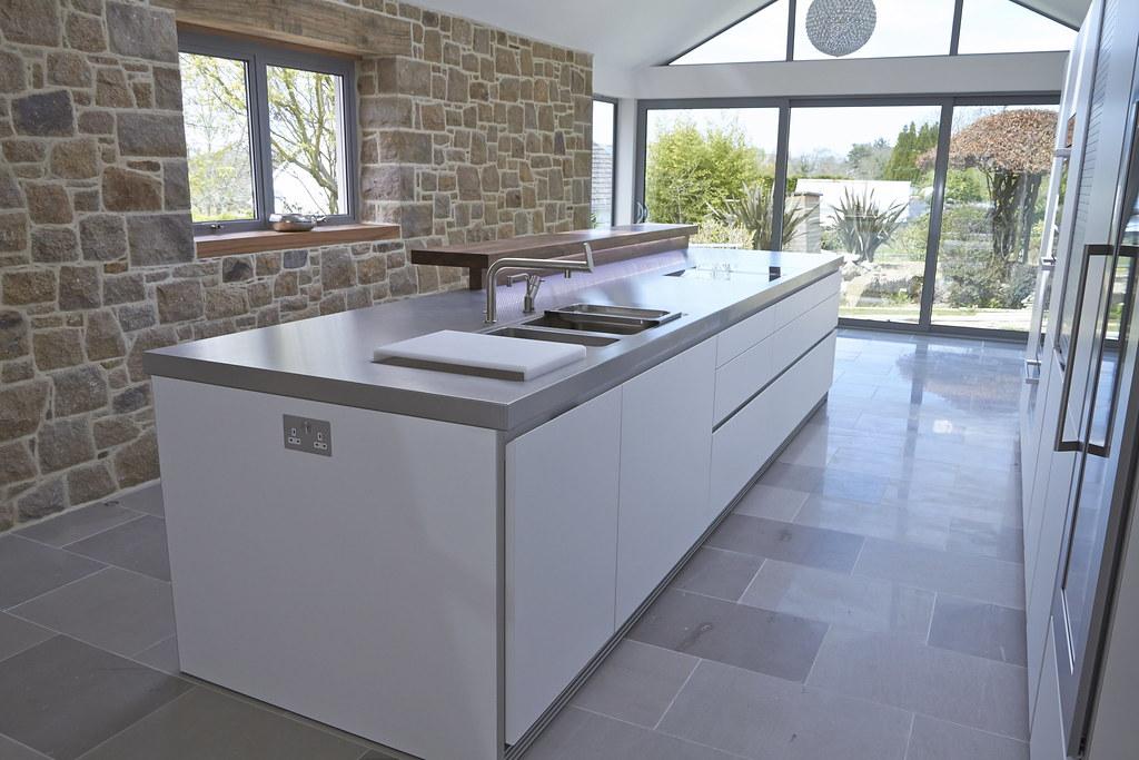 Bulthaup B1 bulthaup b1 against a granite wall bulthaup kitchens by hobsons