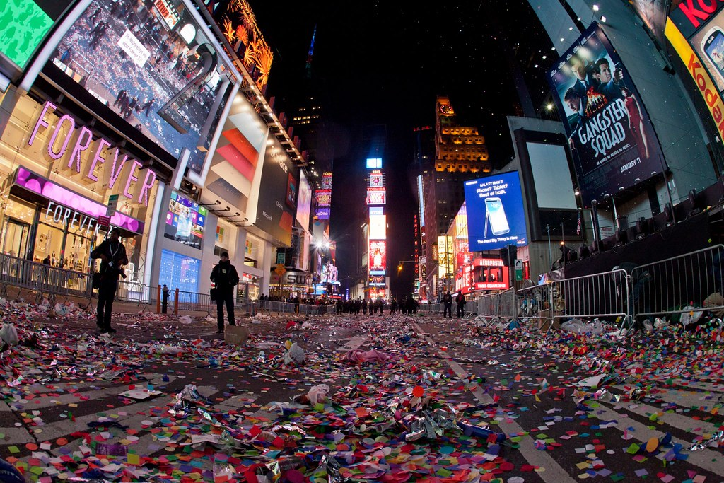 Time Square New Years Eve