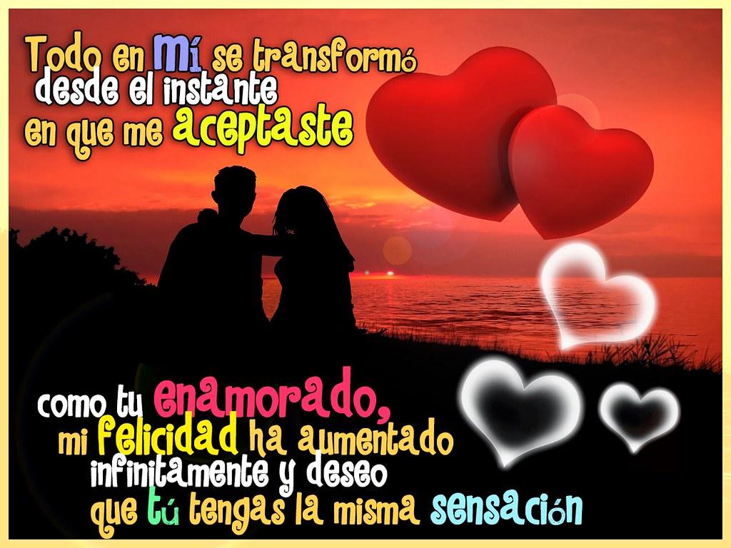 Frases De Amor Diseno Con Frase De Enamorados Para Compar Flickr