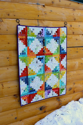 Sunshine and Showers Baby Quilt | by CoraQuilts~Carla
