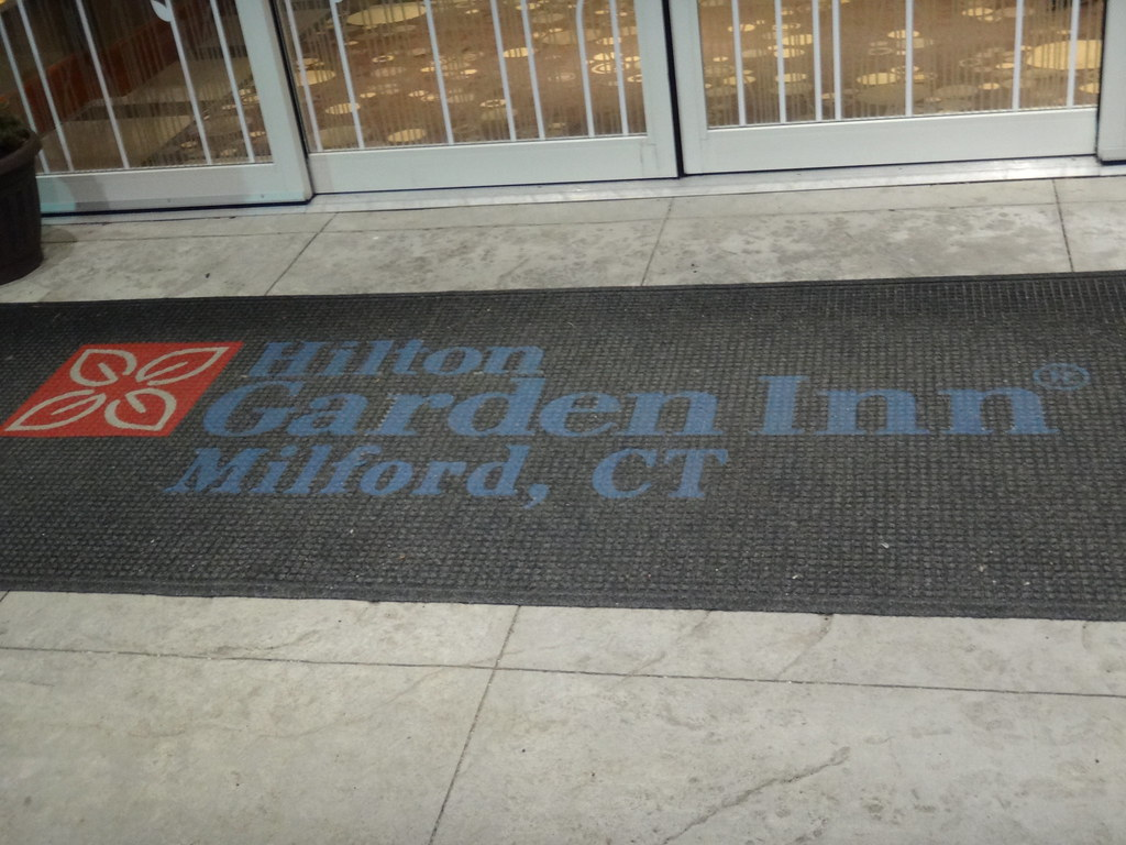 ... Hilton Garden Inn Milford, CT Door Mat | By Jaemre288videos