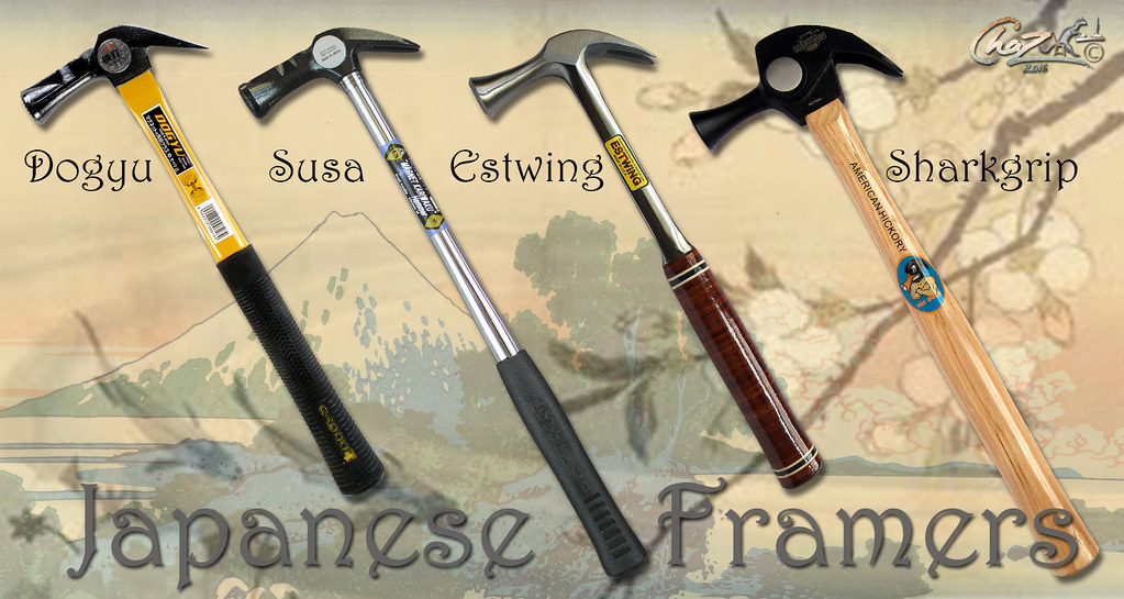 japanese framing hammers by chazferret japanese framing hammers by chazferret