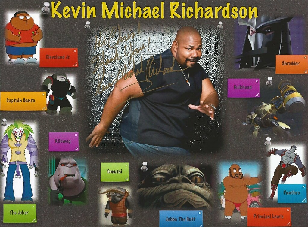 kevin michael richardson interview