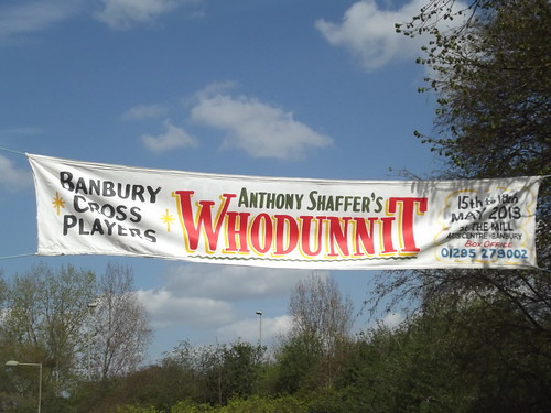 Oxford Canal - Banbury - sign - Whodunnit | by ell brown