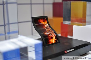 Flexible AMOLED from LG-Display at SID-2013 | by erich_strasser