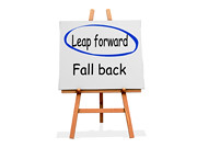 Leap Forward Not Fall Back | by One Way Stock
