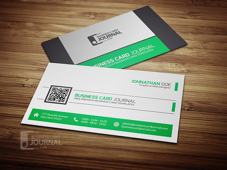 Refreshing green qr code business card template download flickr refreshing green qr code business card template by meng loong fbccfo Choice Image