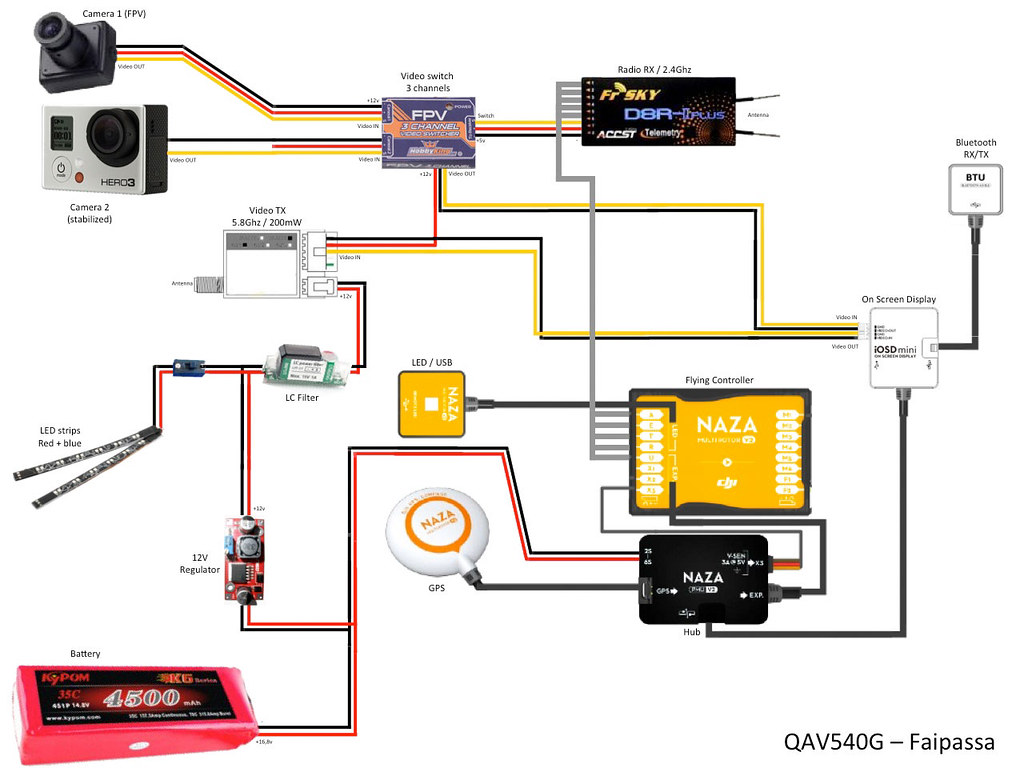 Dji Naza Wiring Diagram 2 Phantom Qav540g Olivier I Flickr