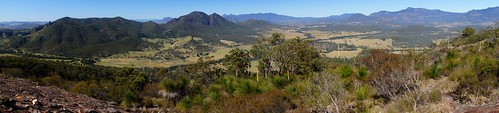 Panorama View from Mount Greville (720m)