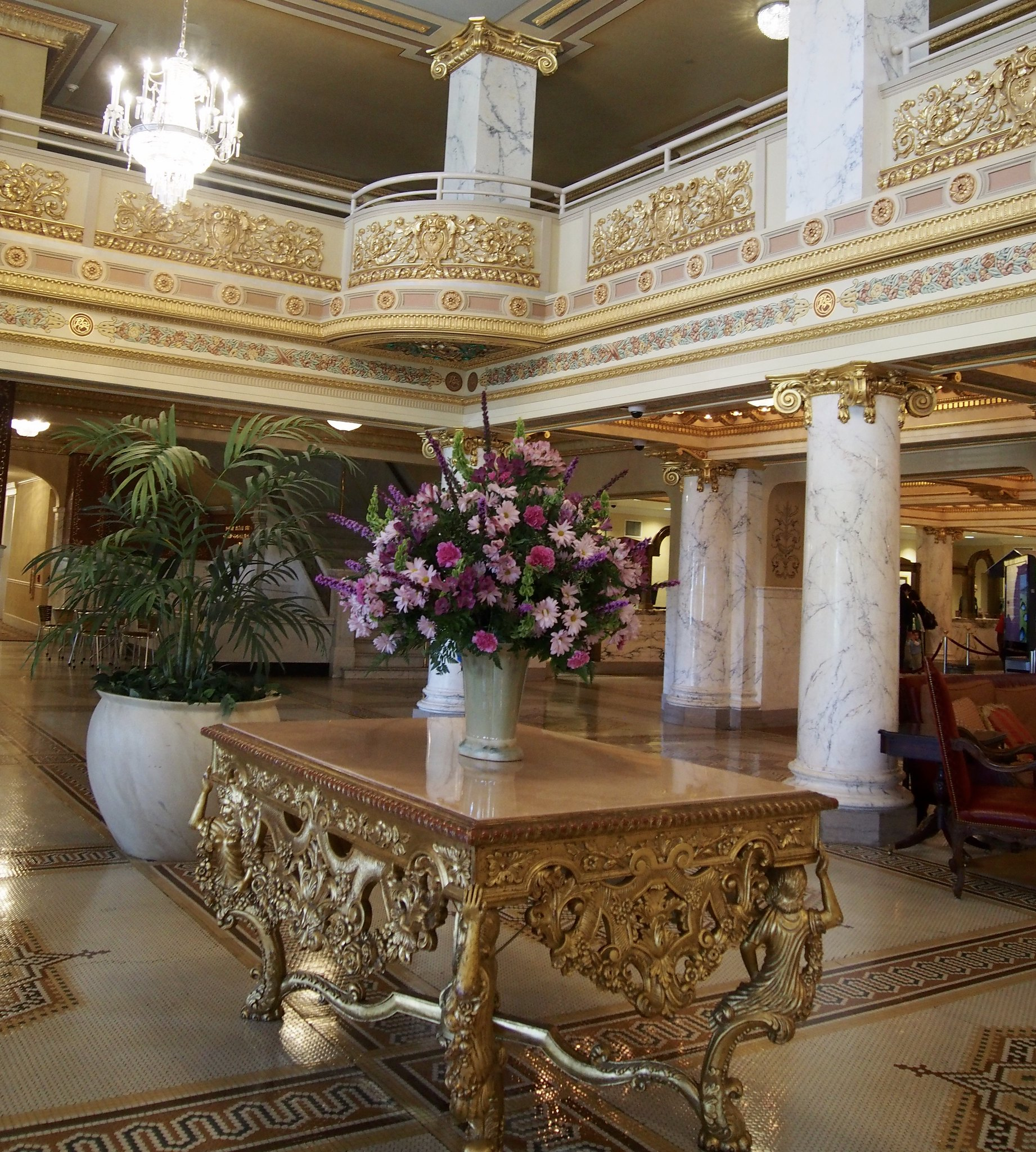 French Lick lobby